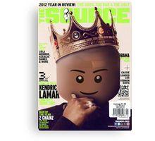 LEGO Source - King Kendrick Canvas Print