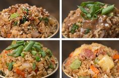 4 Fried Rice Ideas