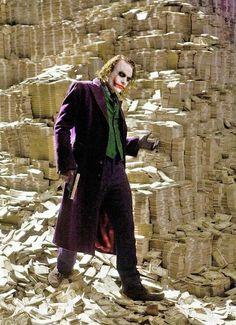 The Joker; Heath Ledger