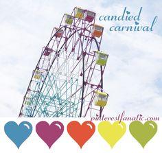 color palette ::: candied carnival