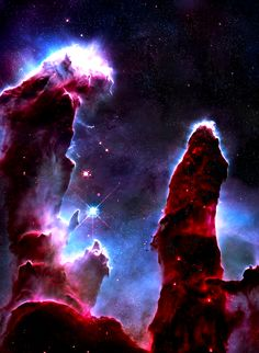 stellar-indulgence: Eagle Nebula by Piotr Wachowicz