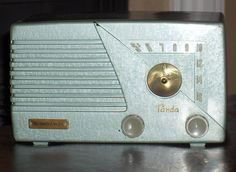 "Northern Electric 5404 ""PANDA"" Tube Radio by Antique Radios, via Flickr"