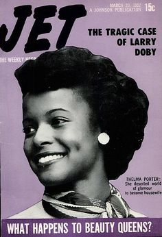 What Happens to Beauty Queens Like Thelma Porter - Jet Magazine, March 1952 Jet Magazine, Black Magazine, Life Magazine, Magazine Stand, Ebony Magazine Cover, Magazine Covers, Essence Magazine, Vintage Black Glamour, Black History Facts