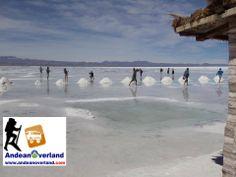 SALAR DE UYUNI - MARAVILLA NATURAL DEL MUNDO. El salar de Uyuni el más grande en el mundo está ubicado en el departamento de Potosí. www.andeanoverland.com