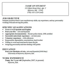 writing good resume objectives objective statement examples ...