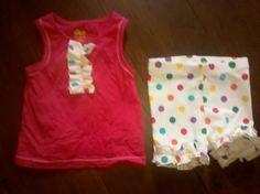 A Work In Progress: Making Leggings into Shorties--My Matilda Jane knock offs :)