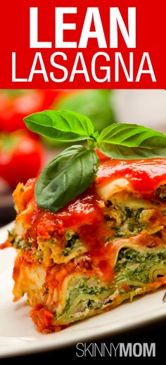 Get this Skinny Lean Lasagna!!!! SO yummy :)