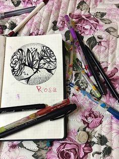 Rosa🌹 My notebook 📓  Bulgaria 🇧🇬  🖤👽👌😏✏️🖍🖋🖊