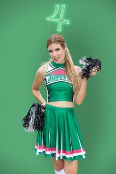 (L) Sailor Jupiter Cosplay Cheerleader Uniform - LIMITED