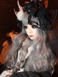Lolita...She doesn't look real! She looks like a doll!