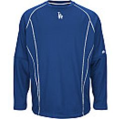 Buying - Majestic Athletic Mens Los Angeles Dodgers Practice Long-Sleeve T-Shirt