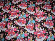 Tela FQ :: Folk Frida :: de nosgustanlosretros por DaWanda.com