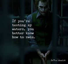 better know how to swim