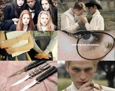 tales from the shadowhunter academy: aesthetics [by wut-a-duckie]