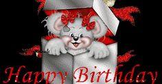 Scraps Feliz Aniversário! | Birthday wishes, Happy and Glitter