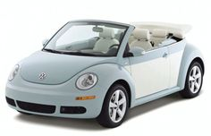 blue vw beetle convertible - Google Search