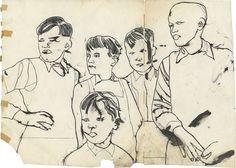 Five Boys 1954