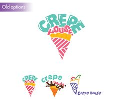 Crepe House Restaurant's Identity System by Lập Trinh, via Behance