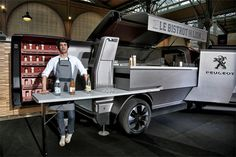 This Peugeot Food Truck is The Rolls Royce of Mobile Kitchens