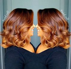 55 Fall Hair Color For Brown Blonde Balayage Carmel Hairstyles Perfekte Haarfarbe. Carmel Hair, Curly Hair Styles, Natural Hair Styles, Perfect Hair Color, Pelo Natural, Corte Y Color, Relaxed Hair, Hair Painting, Blonde Balayage
