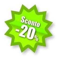 Oggi pomeriggio apertura eccezionale ed in più SOLO PER OGGI : SCONTO 20 su tutto!!!!