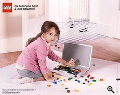 Lego Print-Kampagne: Creativity Forgives Everything | KlonBlog