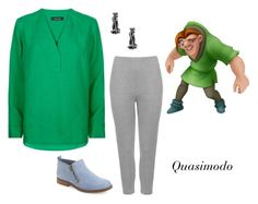"""""""The Hunchback of Notre Dame"""" by sassyladies ❤ liked on Polyvore featuring Disney, Jaeger, WearAll and Hush Puppies"""