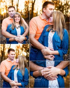 Morgan County Engagement Photography| Ashley + Garrett, farm, sunset