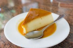 """""""Real Easy"""" Flan recipe: My secret family recipe! Easy to put together ahead of time. For a delicious coconut flan variation, try substituting cream of coconut (Coco Lopez, Coco Goya) for the condensed milk and garnish with shredded coconut if desired. Cheesecake Caramel, Caramel Flan, Creme Caramel, Easy Cheesecake Recipes, Cheesecake Desserts, Dessert Recipes, Dessert Ideas, Coconut Flan, Coconut Milk"""