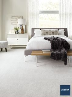 There's nothing like stepping on soft carpet first thing in the morning #carpet #bedroomcarpet #interiordesign