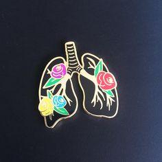 Anatomy Blooms Pin