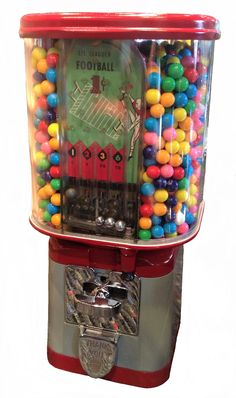 "/""GUM BALL MACHINE/"" Sticker //Decal GYPSY FORTUNE TELLER Candy"