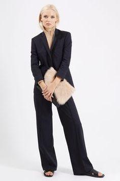 Slouchy Suit Blazer