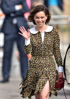 Emilia Clarke Photos - Celebrity Candids at the Idependent Spirit Awards - Zimbio