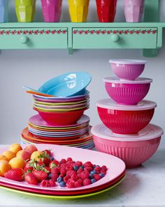 Definitely don't need new dishes, but these would be fun!