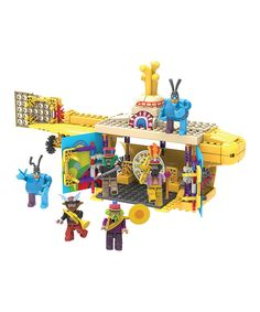 Love this Beatles Yellow Submarine Building Set by The Beatles on #zulily! #zulilyfinds
