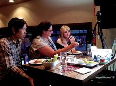 BTS of our live show at Patxi's Pizza San Francisco.