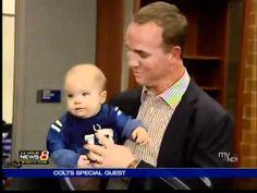 Peyton with Marshall