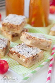 Apple Cider Cheesecake Bars by Bakingdom