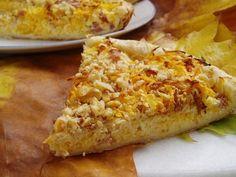 Journal des Femmes : Tarte au céleri-rave, potimarron et bacon