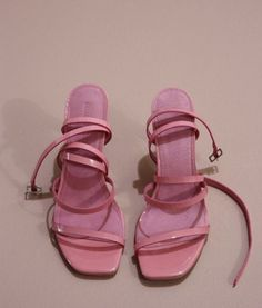Dr Shoes, Swag Shoes, Hype Shoes, Me Too Shoes, Shoes Heels, Pink Strappy Heels, Sneakers Fashion, Fashion Shoes, Aesthetic Shoes