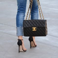 Back in Black  The NUDIST always makes a statement.  inourshoes Chanel  Handbags 2017 5aa1b6f030822