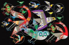 'Moving Target' by Lesley Barnes (for Digital Artist Magazine)