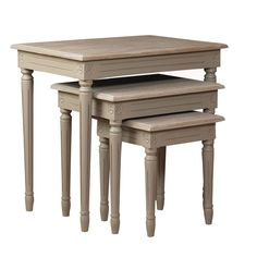 I only saved this because it is called helena nest of tables