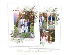 Christmas Card Template, Printable Christmas Cards, Merry Christmas Card, Christmas Photo Cards, Gold Christmas, Christmas Photos, Holiday Cards, Beautiful Christmas Cards, Card Templates