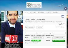 Lic. Jorge Rada Luévano Director General en Asesores Fiscales Zacatecas