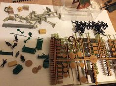 Great assortment of station accesories 02/04/16 from bwwmrc exhibition
