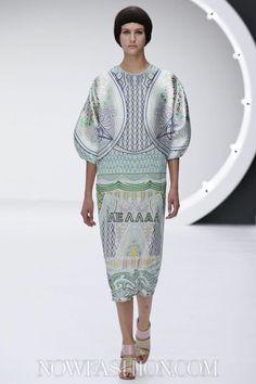 Mary Katrantzou Ready To Wear Spring Summer 2013 London