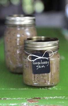 Gooseberry Jam: Prep Time: 18 Minutes  Cook Time: 50 Minutes  Makes: About 3 Cups