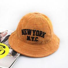 5c0e042a1b5 2014 winter corduroy bucket hat brand casual nyc elegant hat boonie dome  basin hat bob chapeau fishing hat for women men
